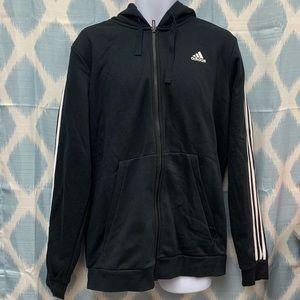 Mens adidas athletic essentials zip up hoodie